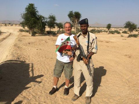Me in Somalia